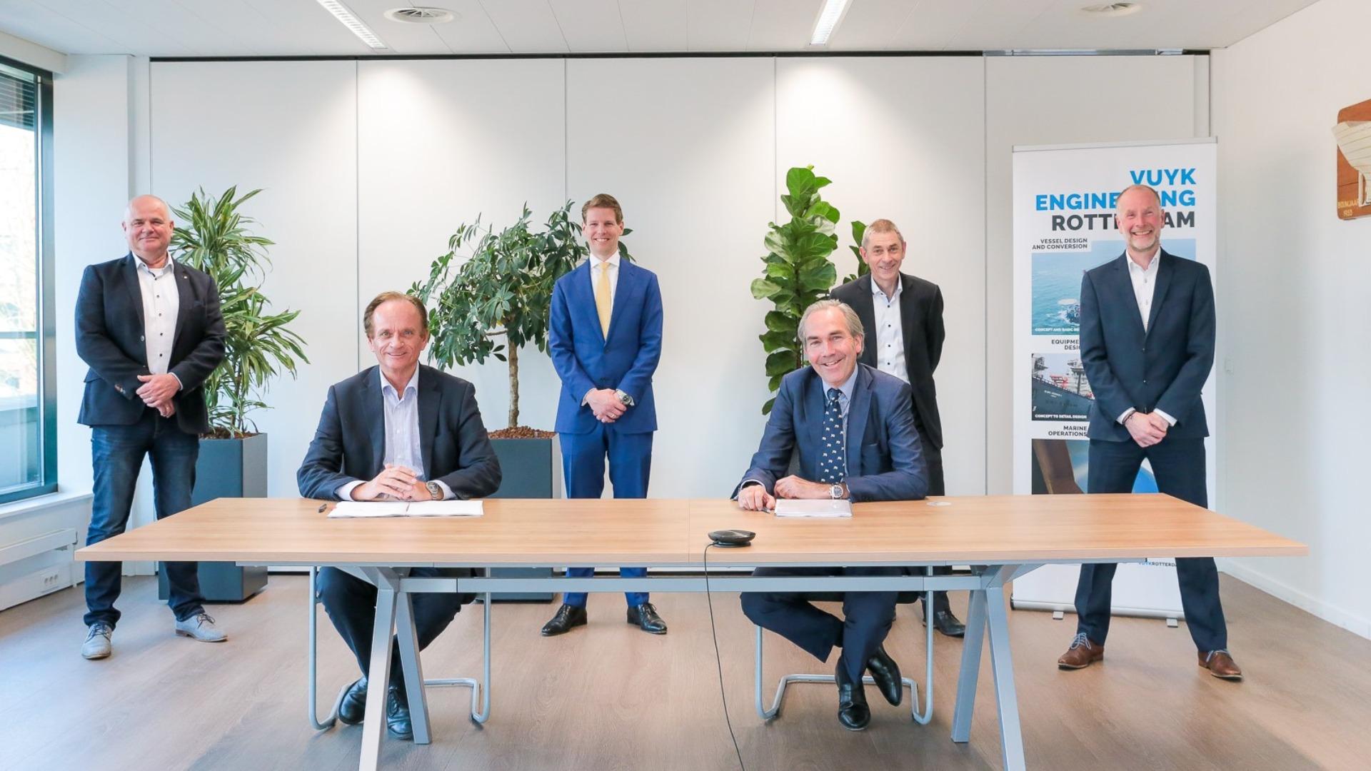Image: Royal Doeksen took over Vuyk Engineering Rotterdam from royal IHC