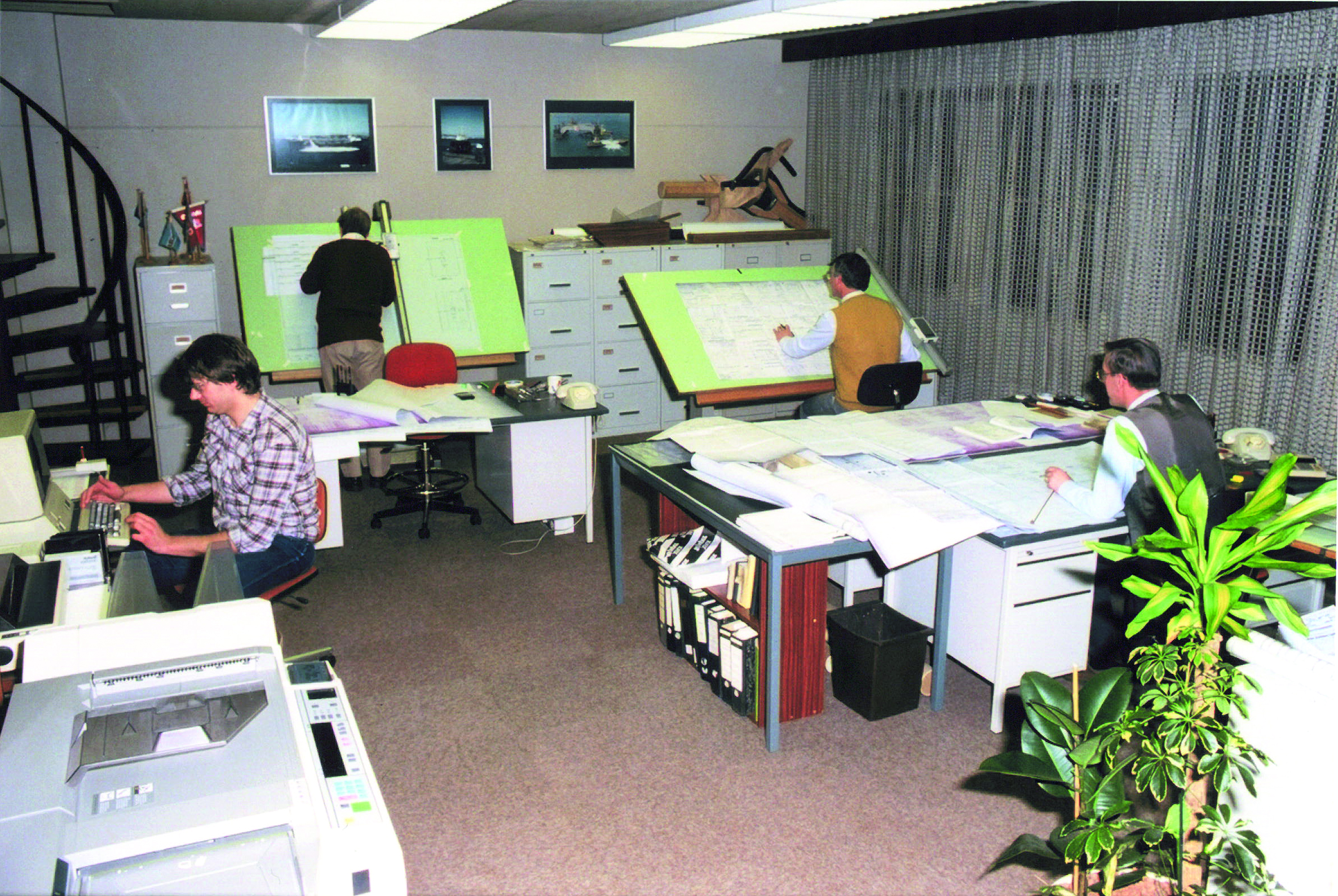 Image: Vuyk office back in the days