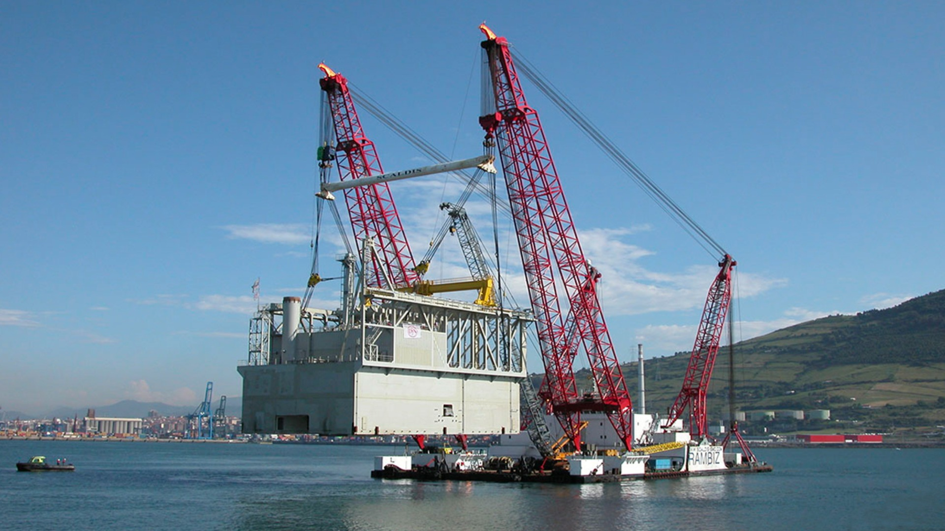 Image of Mining and fallpipe vessel Simon Stevin